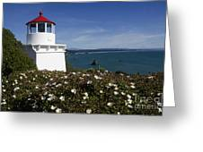Trinidad Lighthouse California Greeting Card