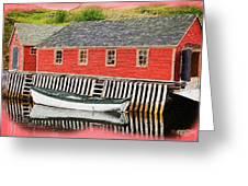 Trinity Bay Digital 2 Greeting Card