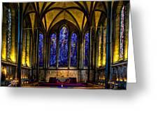 Trinity Chapel Salisbury Cathedral Greeting Card