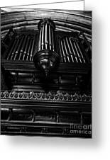 Trinity Church Pipe Organ Greeting Card