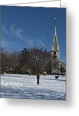 Trinity Church Greeting Card