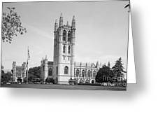 Trinity College Chapel Greeting Card by University Icons
