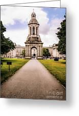 Trinity College Dublin  Greeting Card