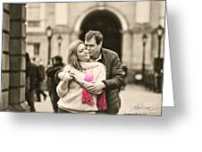 Trinity College Kiss Greeting Card