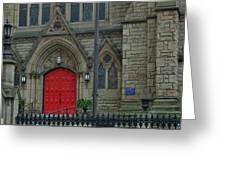 Trinity Episcopal Cathedral Greeting Card