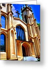 Trinity Episcopal Cathedral Columbia Sc Greeting Card