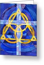Trinity Greeting Card by Mark Jennings