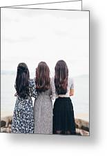 Triplets Greeting Card