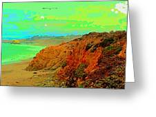 Trippin' To Cambria Greeting Card