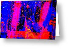 Triptych 2 Cropped Greeting Card