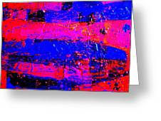 Triptych 3 Cropped Greeting Card