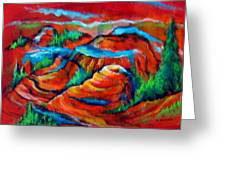 Triptych Of Bryce Canyon Greeting Card