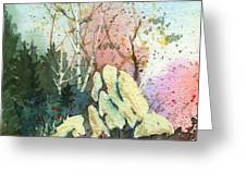 Triptych Panel 1 Greeting Card