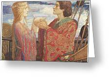 Tristian And Isolde Greeting Card