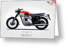 Triumph Bonneville 1966 Greeting Card