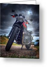 Triumph Bonneville  Greeting Card