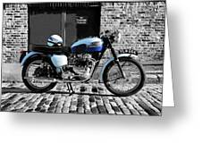 Triumph Bonneville T120 Greeting Card