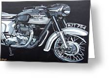 Triumph Thunderbird Greeting Card