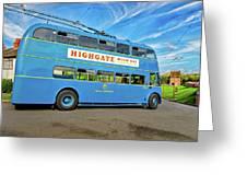 Trolleybus 862 Greeting Card