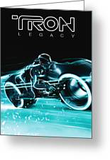 Tron Legacy Greeting Card