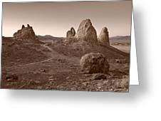 Trona Landscape Greeting Card