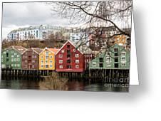 Trondheim Colors Greeting Card