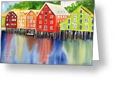 Trondheim Greeting Card