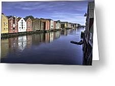 Trondheim Norway Greeting Card