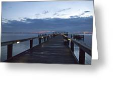 Tropic Twilight On The Indian River Greeting Card