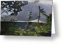 Tropic Wind Greeting Card