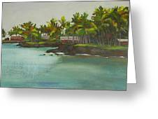 Tropical Bay Greeting Card