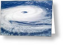 Tropical Cyclone Catarina Greeting Card