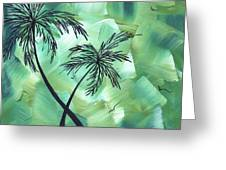 Tropical Dance 3 By Madart Greeting Card
