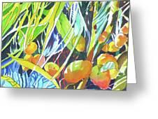 Tropical Design 1 Greeting Card