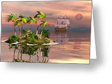 Tropical Discovery Greeting Card