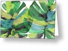 Tropical Dreams 1- Art By Linda Woods Greeting Card