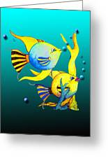 Tropical Fish Fun Greeting Card
