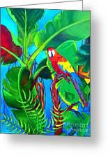 Tropical Flame Greeting Card