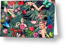 Tropical Fun Sexy  Greeting Card