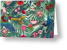 Tropical Fun Time  Greeting Card