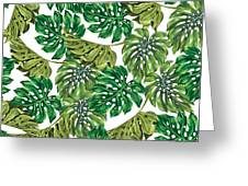 Tropical Haven  Greeting Card