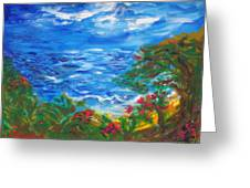Tropical Horizons Greeting Card