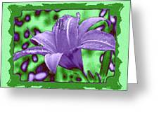 Tropical Lily 4 Greeting Card
