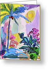 Tropical Moods Greeting Card