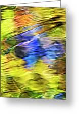 Tropical Mosaic Abstract Art Greeting Card