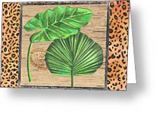 Tropical Palms 1 Greeting Card