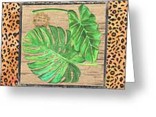 Tropical Palms 2 Greeting Card