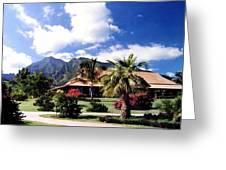 Tropical Plantation Greeting Card