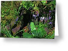 Tropical Rainforest Greeting Card