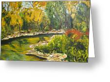 Tropical River Greeting Card